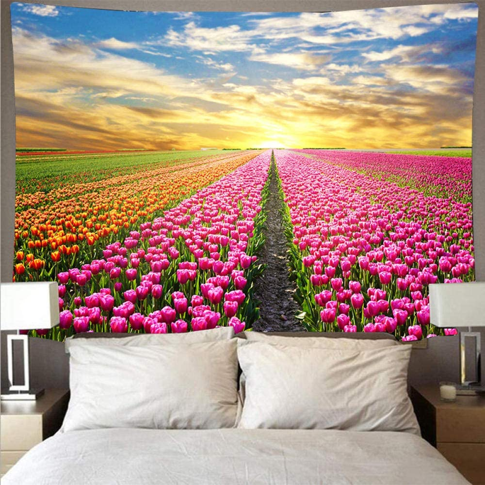 LHHYY 4 Price reduction years warranty Hanging Tapestries Big Mountain Tapestry Cheap Sky Scenery