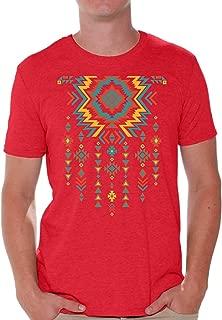 Southwest Pattern T-Shirt Indian Tribal Necklace Shirt