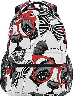 Nander Backpack Travel Sport Baseball Print Pattern School Bookbags Shoulder Bag for Mens Boys