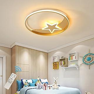 Plafonnier Moderne Oninio, Lampe de Plafond Acrylique Dimmble 45W LED, Luminaire Minimaliste en Forme d'Étoile, Lampe Mura...