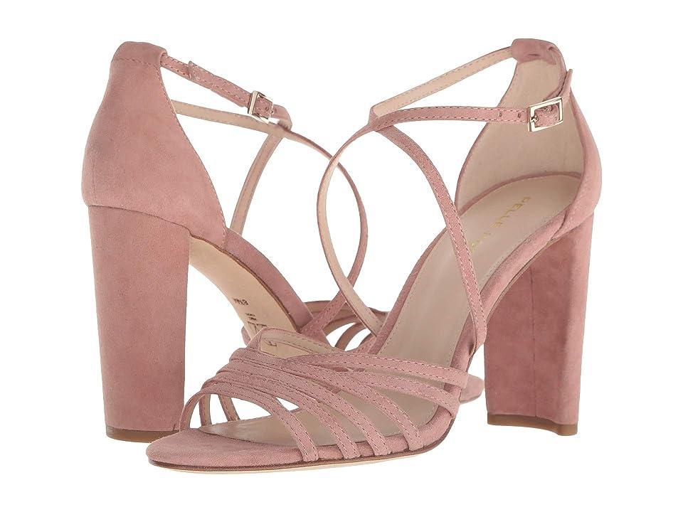 Pelle Moda Huxley (Blush Suede) High Heels