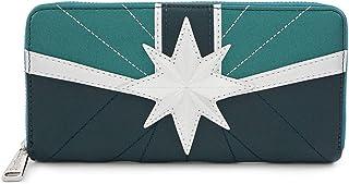 Loungefly x Captain Marvel Green Suit Zip-Around Wallet