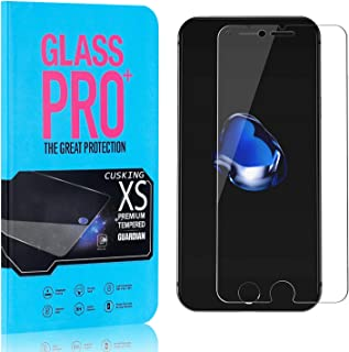 Screen Protector Compatible with iPhone SE 2020 / iPhone SE 2nd Generation, CUSKING 99.99% Clarity 9H Tempered Glass Screen Protector for iPhone SE 2020, Bubble Free, Ultra Thin, 1 Pack