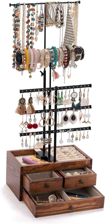 Jewelry Organizer Sale SALE% Max 59% OFF OFF 5 Tier Stand Je Holder QILICHZ
