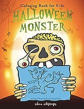 Halloween Monster: Coloring Book for Kids (Happy Halloween): 1