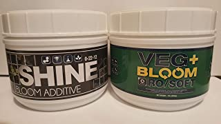 RO Soft with Shine from Veg+Bloom - 1 Pound Sizes - for All Coco, Hydroponic and Aeroponic Systems