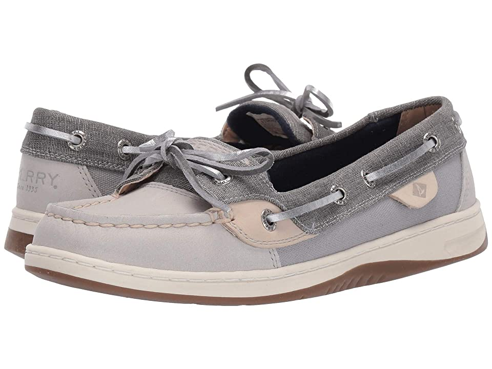 Sperry Angelfish Linen (Grey/Oat) Women
