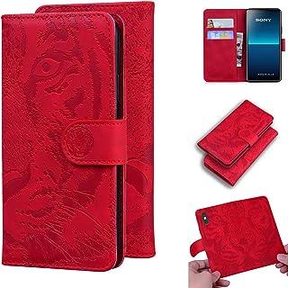 LODROC Cover Sony Xperia L4 Flip Cover Custodia Protettiva Caso Libro in Pelle PU con Portafoglio, Funzione Supporto, Chiu...