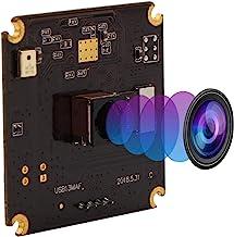 "IEights 13MP Autofocus USB Camera Module 1/3"" CMOS IMX214 Sensor with Non-Distortion Lens FOV 75Degree,Support 3840X2880,U..."