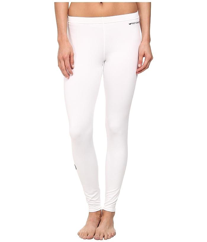 Hot Chillys Micro-Elite Chamois 8K Solid Tight (White) Women's Underwear