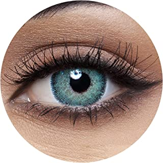 Anesthesia Dream Green Unisex Contact Lenses, Anesthesia Cosmetic Contact Lenses, 6 Months Disposable - Dream Green Color