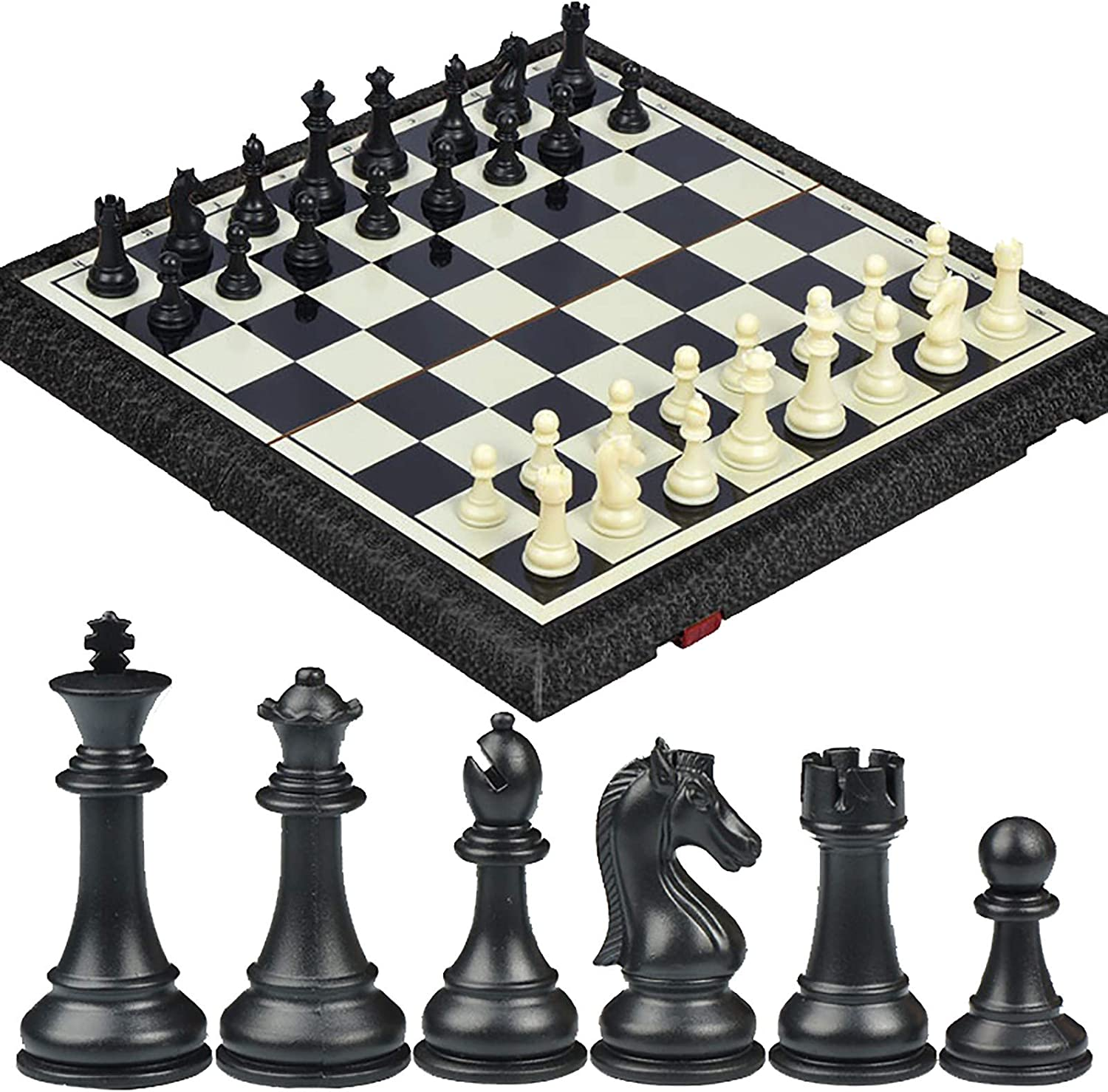 Zdcdy Magnetic Bombing free shipping Max 57% OFF Travel Chess Set Traditional Game with Fol