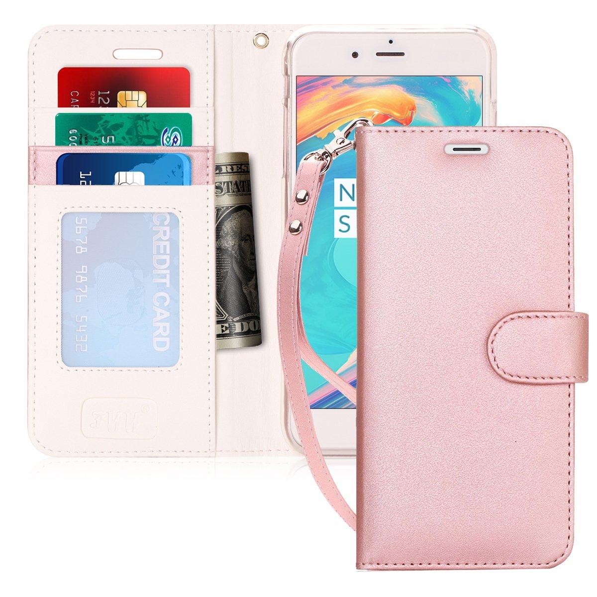 designer iphone 7 plus cases amazon comfyy luxury pu leather wallet case for iphone 7 plus iphone 8 plus, [