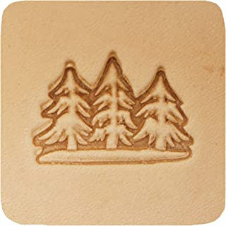 Springfield Leather Company 3 Trees 3D Leather Stamp Prime