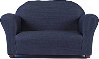 Keet Roundy Denim Children's Sofa, Blue