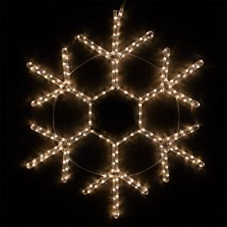 Best large outdoor snowflake christmas lights Reviews