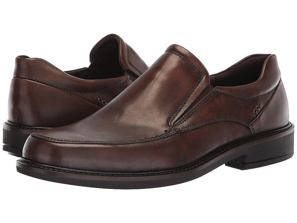 ECCO Holton Apron Toe Slip-On (Cocoa Brown) Men