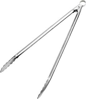 Lurch Germany 12 Inch All-in-One Stainless Steel Tongs
