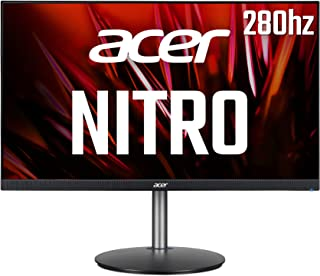 Acer Nitro XF273Zbmiiprx 27 inch Full HD Gaming Monitor (IPS Panel, FreeSync Premium, 280Hz (OC), HDR 10, Height Adjustabl...