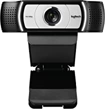 Computer Webcam C930e HD - 4X Zoom 1080p Streaming Widescreen Video Camera - Built in 2 Omni-Directional Mics for Recordin...