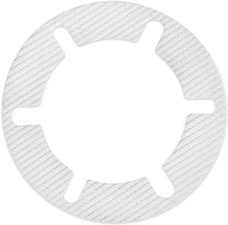 Trapflex Set di Accessori per Capelli (10 Pezzi) Filtro per Capelli/scarichi per Doccia | Diametro: 11 cm | HF90 | Adatto ...