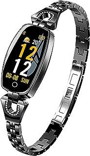 Smart Watch,Fitness Tracker for Women Heart Rate Monitor Calorie Step Counter Luxury Band Bracelets Jewelry Bracelet Sleep Monitor