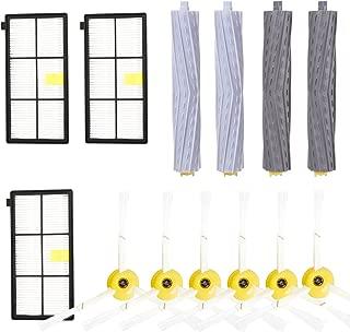 YOMEKOLY Accessories Kit for iRobot Roomba 800 900 Series 805 850 860 861 864 866 870 871 880 885 890 960 966 980 990 Replacement Parts Replenishment iRobot Set Hepa Filter Side Brush Roller