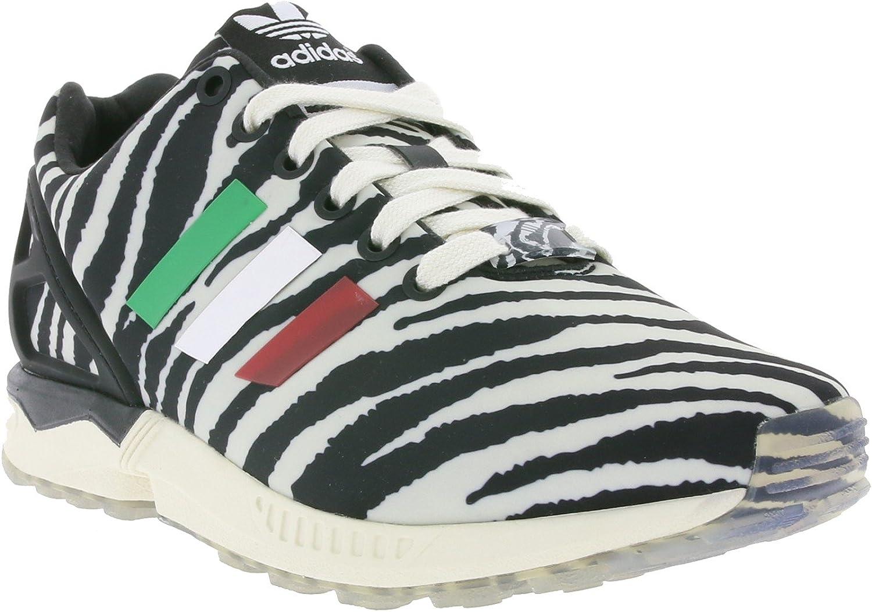 Adidas Originals ZX FLUX Black White Unisex Sneakers shoes Torsion System