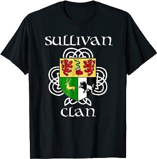 Sullivan Family Crest Coat of Arms T Shirt
