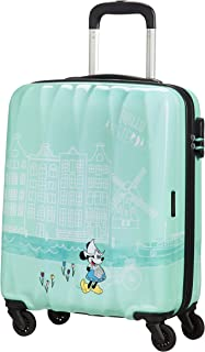 American Tourister Disney Legends Spinner S Valigia per Bambini, 55 cm, 36 L, Turchese (Take Me Away Minnie Amsterdam)