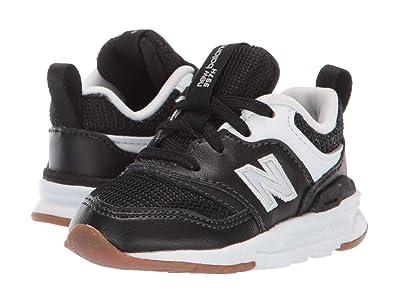 New Balance Kids 997Hv1 (Infant/Toddler) (Black/Silver) Kids Shoes