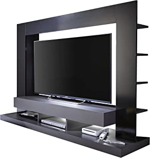 Trendteam Mueble Madera Negro Brillante 170 x 124 x 175 cm
