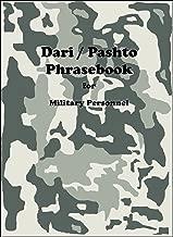 Dari / Pashto Phrasebook for Military Personnel (English Edition)
