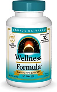 Source Naturals Wellness Formula Bio-Aligned Vitamins - Immune System Support Supplement & Immunity Booster - 90 Tablets