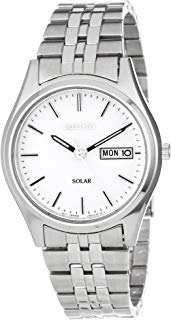 Seiko Men's Stainless Steel Solar Watch