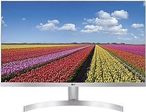 "LG 27MK600M-W - Monitor FHD de 68,6 cm (27"") con Panel IPS (1920 x 1080 píxeles, 16:9, 250 cd/m², NTSC >72%, 1000:1, 5 ms,..."