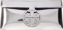 Tory Burch - Miller Mirror Metallic Clutch