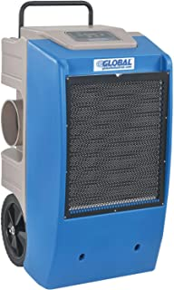Global Industrial Dehumidifier Commercial Grade Refrigeration 250 Pints a Day Dehumidification with Water Pump