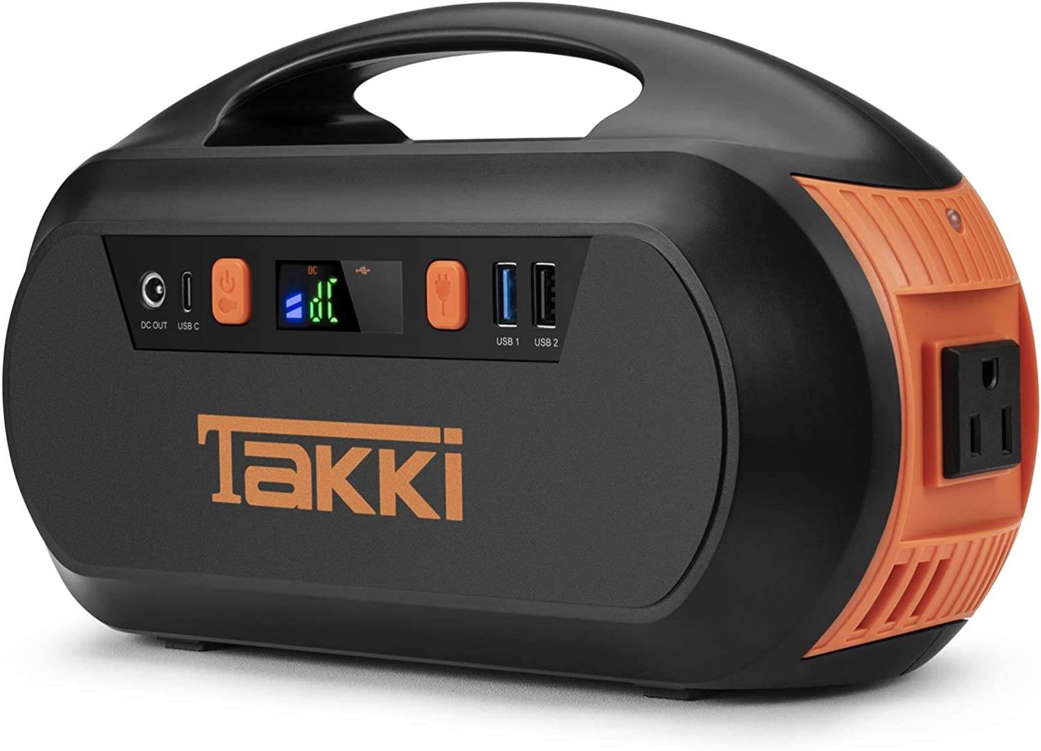 178Wh Portable Power Station, Solar Generator with Battery Pack AC DC Outlet and Camping Lights for CPAP Machine, Home Backup Supply, Emergency, Hurricane, Hunting, Phones (Solar Panel Not Included)