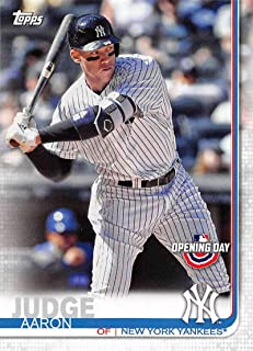 1eb5f9633 2019 Topps Opening Day Baseball  15 Aaron Judge New York Yankees Official  MLB Trading Card
