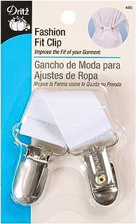Dritz 485 Fashion Fit Clip, White