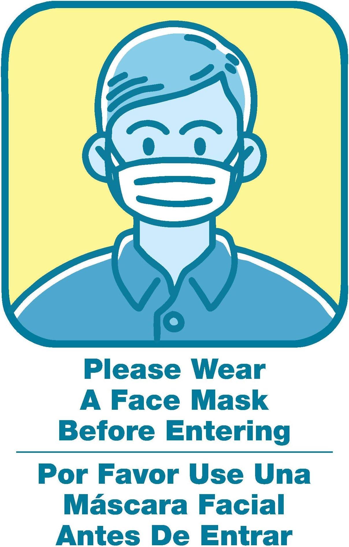 please wear mask sign Please Wear Your Facemask Sign mask required sign welcome mask sign mask required sign mask put on mask sign