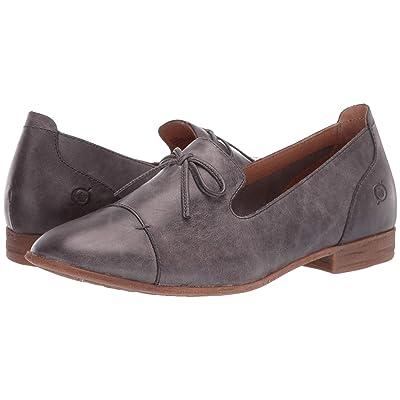 Born Gallatin (Grey Full Grain Leather) Women