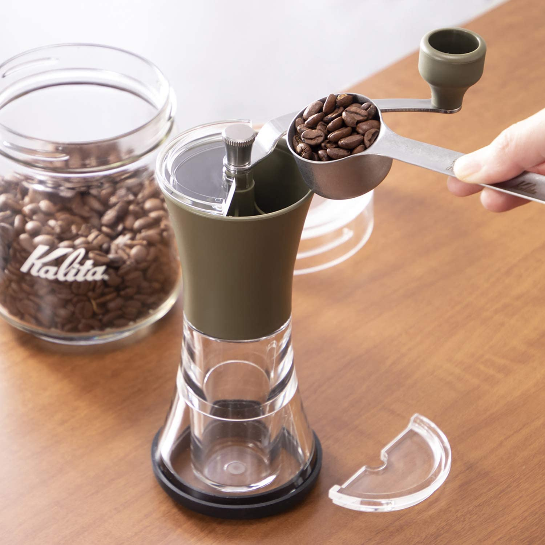 カリタ Kalita コーヒーミル 手挽き セラミック アーミィグリーン KKC-25 AG #42151