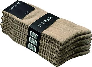 GAWILO Chaussettes de qualité supérieure en 80 % coton - Pour homme et femme - Lot de 9 - Coton doux - Pour le travail et ...