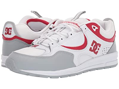 DC Kalis Lite (White/Grey/Red) Men