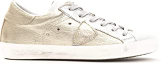 Philippe Model Sneakers Paris L DMIXAGE Metallizzata Scarpa 100% Pelle Made in Italy Donna CLLDXY31