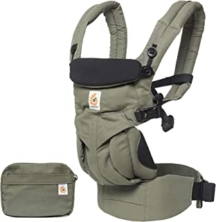 Ergobaby Carrier, Omni 360 All Carry Positions Baby Carrier, Khaki Green