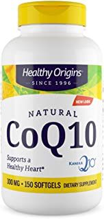 Sponsored Ad - Healthy Origins Kaneka COQ10 Gels, 300 Mg, 150 Count