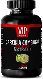 Fat loss - GARCINIA CAMBOGIA 1190MG - 50% HCA EXTRACT - Garcinia abundant health - 1 Bottle (60 Capsules)